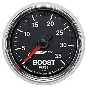 Autometer - Autometer 3804 35/60psi GS Series Boost Gauge w/Green LED Backlight - Image 2