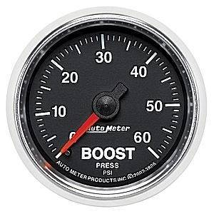 "Gauges & Pods - Gauges - Autometer - Autometer 3805 GS 2 1/16"" Boost"