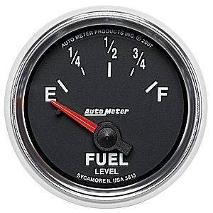"Gauges & Pods - Gauges - Autometer - Autometer 3813 GS 2 1/16"" Fuel Level GM"