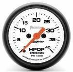 Gauges & Pods - Gauges - Autometer - Autometer 5796 Phantom Series HPOP Pressure Gauge 94-07 7.3L/6.0L