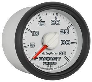 Gauges & Pods - Gauges - Autometer - Autometer 8504 0-35 PSI Mechanical Boost Gauge 03-09 Dodge Cummins