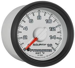 Gauges & Pods - Gauges - Autometer - Autometer 8544 Factory Match Pyrometer Gauge 03-09 Dodge Cummins