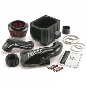 Air Intakes & Accessories - Air Intakes & Components - Banks - Banks 42132 Ram-Air Intake System for 01-04 GM 6.6L Duramax LB7