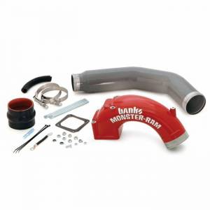 "Engine Parts - Intake Manifolds & Parts - Banks - Banks 42766 High-Ram Intake 3.5"" Boost Tube 03-07 Dodge 5.9L Cummins"