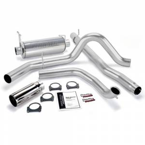 "Exhaust - Exhaust Systems - Banks - Banks 48656 4"" Monster Exhaust 99-03 Ford 7.3L Powerstroke F250/350"