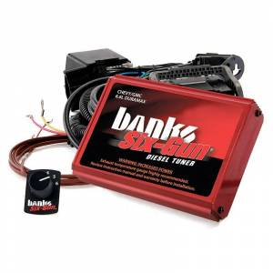 Shop By Part - Programmers & Tuners - Banks - Banks 63887 Six Gun w/switch for 2007.5-10 GM 6.6L Duramax LMM