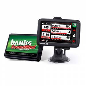 Shop By Part - Programmers & Tuners - Banks - Banks EconoMind Diesel Tuner & Banks iQ 03-07 Dodge 5.9L Cummins