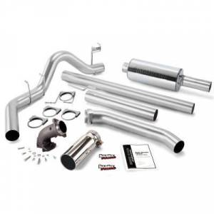 Exhaust - Exhaust Systems - Banks - Banks Monster Sport Cat Back Exhaust 01-05 GM 6.6L Duramax LB7 LLY