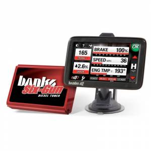 Shop By Part - Programmers & Tuners - Banks - Banks Six-Gun Diesel Tuner & Banks iQ - Fits 07-09 GM 6.6L Duramax