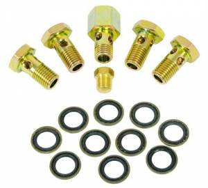 Fuel System & Components - Fuel System Parts - BD Diesel - BD 1050220 Banjo Bolt Upgrade Kit Fits 00-02 5.9L Cummins