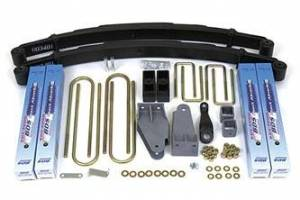 "Steering And Suspension - Lift & Leveling Kits - BDS Suspension - BDS 306H 4"" Suspension Lift Fits 80-96 Ford F250 TTB 4WD"
