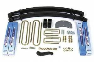 "Steering And Suspension - Lift & Leveling Kits - BDS Suspension - BDS 308H 4"" Suspension Lift Fits 80-96 Ford F350 With Mono Beam 4WD"