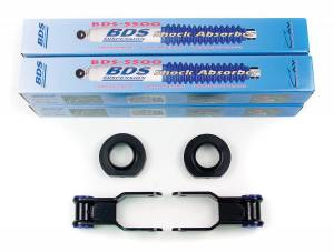Steering And Suspension - Lift & Leveling Kits - BDS Suspension - BDS Suspension .75in Front/1in Rear Shackle 484H