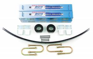 Steering And Suspension - Lift & Leveling Kits - BDS Suspension - BDS Suspension 1.75in Front/2in Rear AAL w/Chrysler 436H