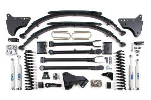 """Steering And Suspension - Lift & Leveling Kits - BDS Suspension - BDS 548H 4"""" 4-Link Suspension Lift Kit 