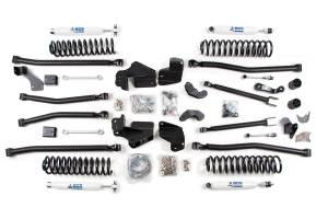 "Steering And Suspension - Lift & Leveling Kits - BDS Suspension - BDS 1419H 4"" Long Arm 4-Link Lift Kit | 2007-18 Jeep Wrangler JK 2 Door"