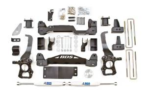 "BDS Suspension - BDS 1502H 4"" Suspension Lift Kit System 