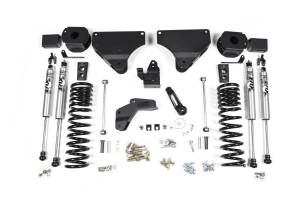 "Steering And Suspension - Lift & Leveling Kits - BDS Suspension - BDS 1631H 4"" Radius Arm Drop Suspension System 