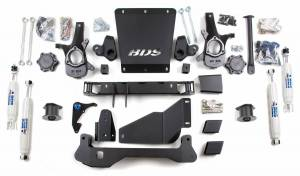 """Steering And Suspension - Lift & Leveling Kits - BDS Suspension - BDS 191H 4-1/2"""" Lift Kit for 2000 - 2006 Chevrolet/GMC 4WD Avalanche, Suburban, Tahoe, Yukon, and Yukon XL, Escalade AWD, 1500 1/2 ton SUVs"""