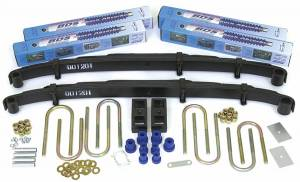 """Steering And Suspension - Lift & Leveling Kits - BDS Suspension - BDS 109H  4"""" Lift Kit for 1973 - 1976 GM 4WD K5 Blazer/Jimmy, K10 / K15 1/2 ton Suburban and pickup trucks"""