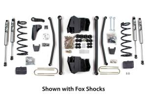 Steering And Suspension - Lift & Leveling Kits - BDS Suspension - BDS Suspension 6in Front LA /4in Rear Block 629H