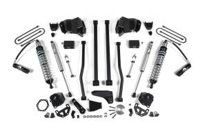 "Steering And Suspension - Lift & Leveling Kits - BDS Suspension - BDS 647F 6"" Performance Coil-Over System - Dodge Diesel 4"" Axle"