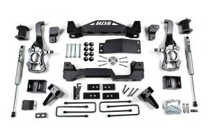 """Steering And Suspension - Lift & Leveling Kits - BDS Suspension - BDS 1506H 6"""" Suspension System 
