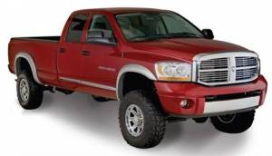 Exterior - Fender Flares - Bushwacker - Bushwacker 50904-02 EXTEND-A-FENDER 03-09 Dodge RAM 2500/3500 Short Bed and 02-05 Ram 1500