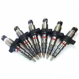 Dynomite Diesel - Dynomite Diesel 50HP Reman Injector Set 03-04 Dodge Cummins