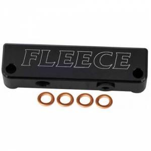 Fuel System & Components - Fuel System Parts - Fleece Performance - Fleece FPE-FFD-RO-4G Fuel Filter Delete 10-13 Dodge 6.7L Cummins
