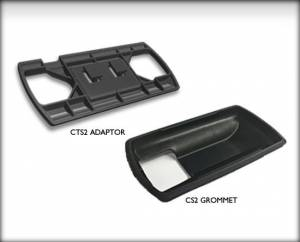 Ford Powerstroke - EDGE PRODUCTS - 98005 CTS/CTS2 POD ADAPTER KIT with CS/CS2 GROMMET (allows CTS/CTS2 to be mounted in dash pods)