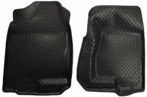 Husky Liners - Front Floor Liner Black 01-06 Chevrolet Silevrado Crew Cab