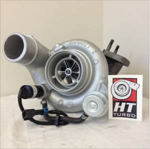 Turbo Chargers & Components - Turbo Charger Kits - High Tech Turbo - High Tech Turbo 4043600-1063 63/10 HE351CW Upgrade 03-07 Dodge 5.9L