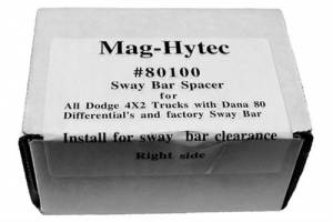 Mag-Hytec - Mag-Hytec - MAG80100 Spacer kit for Dana 80