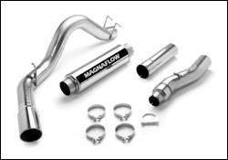 "Exhaust - Exhaust Systems - Magnaflow - Magnaflow 18951 4"" SS CAT-Back Exhaust 99-07 Ford 7.3L/6.0L Powerstroke"