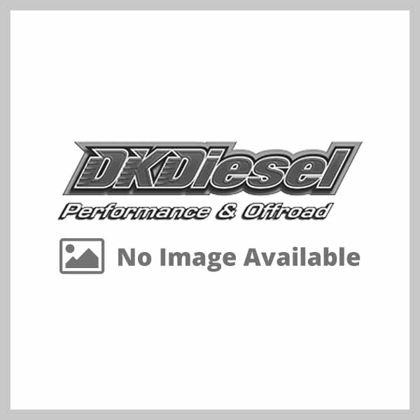 """MBRP - MBRP B1550BLK 4""""x 5""""x 36"""" Black Aussie Cut Style Stack"""