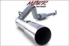 "Exhaust - Exhaust Systems - MBRP - MBRP S6000409 01-05 GM 6.6L Duramax 409 Stainless Cat-Back 4"" Exhaust"