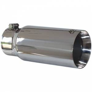 "Exhaust - Exhaust Tips - MBRP - MBRP T5049 4"" x 5"" x 12"" Dual Wall Stainless Straight Cut Exhaust Tip"