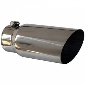 "Exhaust - Exhaust Tips - MBRP - MBRP T5052 4"" x 5"" x 12"" Angled Single Walled exhaust tip"