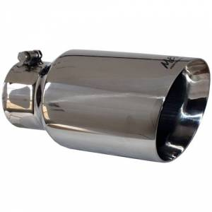 "Exhaust - Exhaust Tips - MBRP - MBRP T5072 4"" - 6"" x 12"" 304 Polished Stainless Dual Wall Tip"