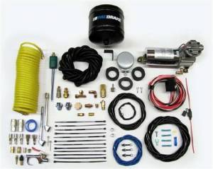 Pac Brake - Pac Brake - HP10163 - Onboard Air Compressor kit w/ 1/2 Gallon Tank