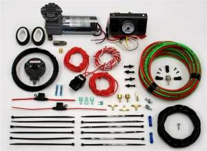 Pac Brake - Pac Brake HP10098 Onboard HP325 Air Compressor Kit W/Dash Switch