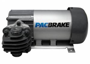 Pac Brake - Pacbrake 12V HP625 Air Compressor-Horizontal Pump Head Config