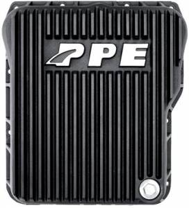 Steering And Suspension - Differential Covers - PPE - PPE 128051020 Black Deep Trans Pan & Internal Filter 01-10 Duramax