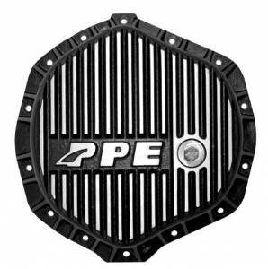 2004.5-2005 GM 6.6L LLY Duramax - Differential Covers - PPE - PPE Brushed HD Diff Cover 01+ GM 2500HD/3500, 03-16 Dodge 2500/3500