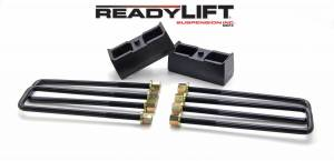 ReadyLift - ReadyLift 1999-18 CHEV/GMC 1500 2.25'' Rear Block Kit 66-3002