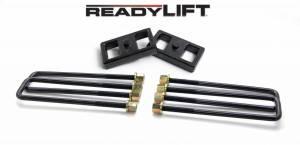 ReadyLift - ReadyLift 2011-18 CHEV/GMC 2500/3500HD 1'' Rear Block Kit 66-3111