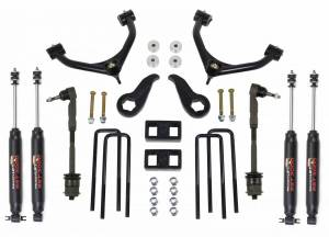 Steering And Suspension - Lift & Leveling Kits - ReadyLift - ReadyLift 2011-18 CHEV/GMC 2500/3500HD 3.5'' F,  1.0'' R SST Lift Kit with SST3000 Shocks 69-3511