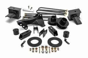 Steering And Suspension - Lift & Leveling Kits - ReadyLift - ReadyLift 2017-2018 FORD F250/F350 2.5'' SST Lift Kit, 4'' Blocks -1 Pc Drive Shaft 69-2740