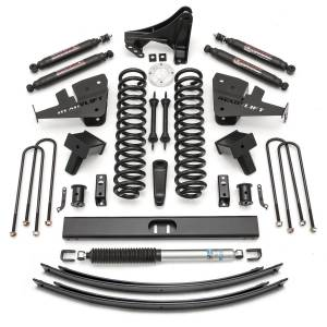 Steering And Suspension - Lift & Leveling Kits - ReadyLift - ReadyLift 2017-2018 FORD F250/F350 8.0'' Lift Kit with SST3000 Shocks-1 Piece Drive Shaft 49-2780
